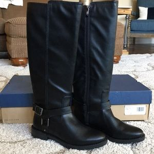 G.H. Bass Ashley Black Boots Sz 7.5 M NEW